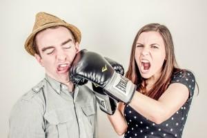 argument-boxing glove